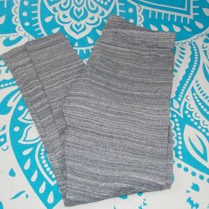 Garage Leggings L Large Grey Comfy Fall Gray